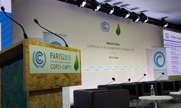 Looking to ICT Solutions for Climate Sustainability at COP21