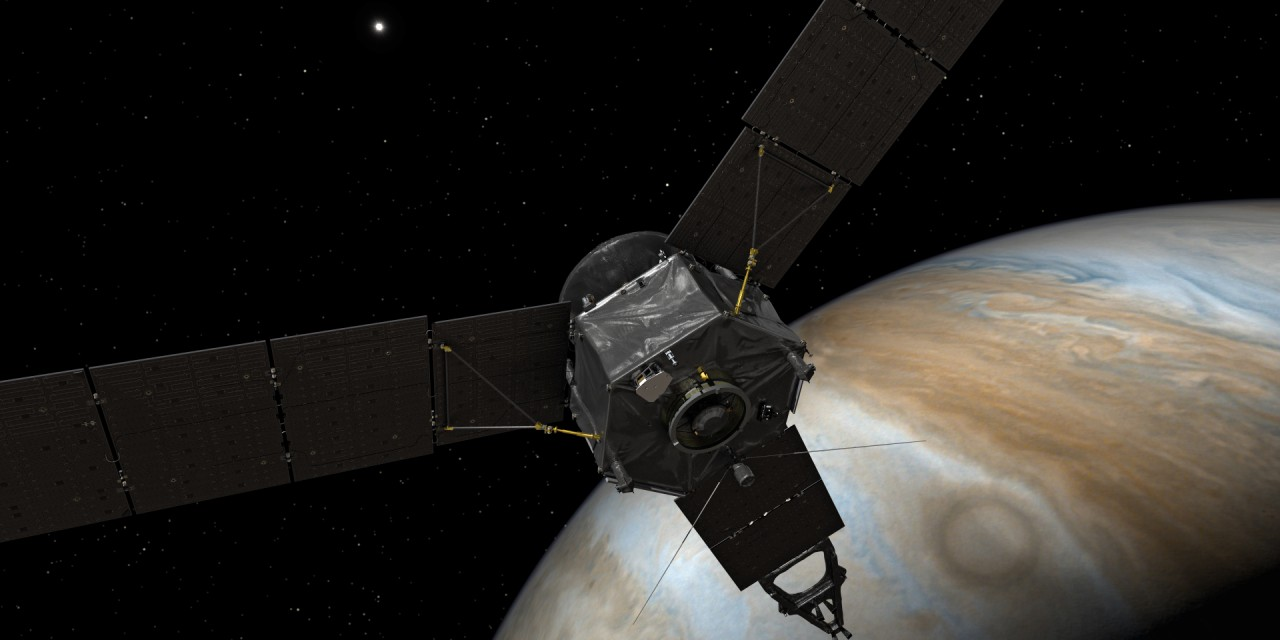 Watch NASA's Juno Attempt to Enter Jupiter's Atmosphere