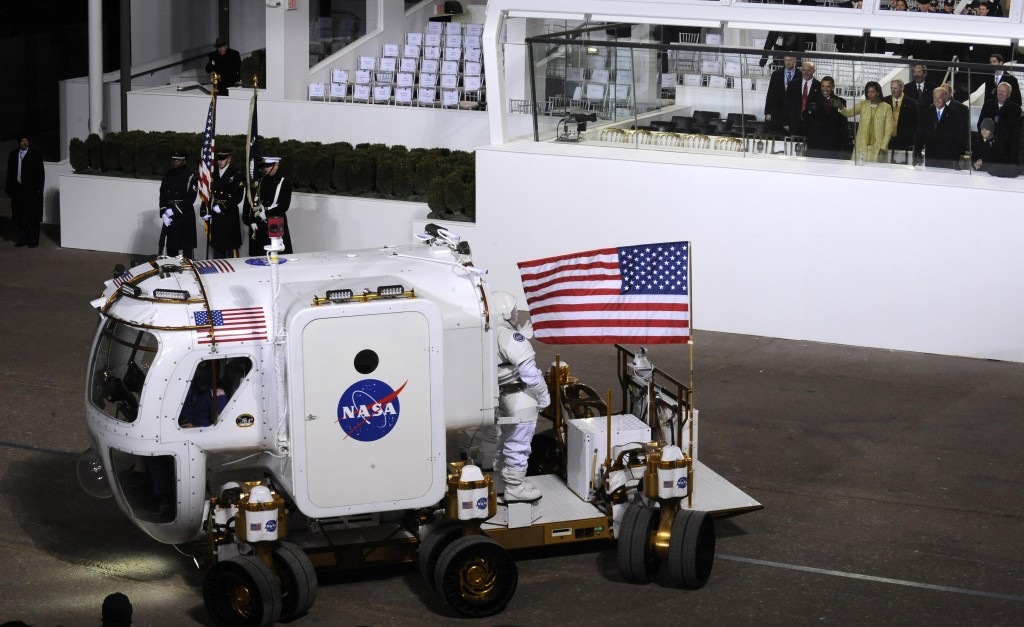 Lunar Electric Rover at Obama's 2009 Inaugral Parade
