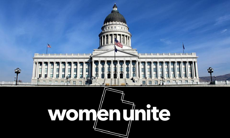 Women's March on the Utah State Capitol